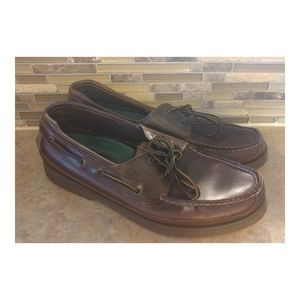 Men's Sperry Top Sider Mako Leather Shoe 12